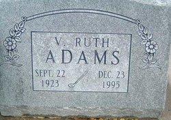 V. Ruth Adams