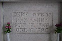 Emma <I>Bernheim</I> Kahne