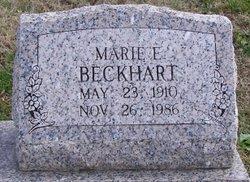 "Mariah Elizabeth ""Marie"" <I>Cooper</I> Beckhart"