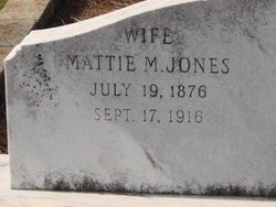 Mattie Mae <I>Jones</I> Fields