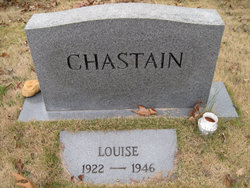 Louise <I>Flanagan</I> Chastain