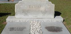 Lottie Melissa <I>Wildes</I> Tatum