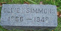 Olive I. Simmons