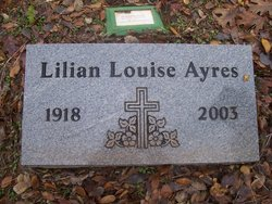 Lillian Louise <I>Sessions</I> Ayers