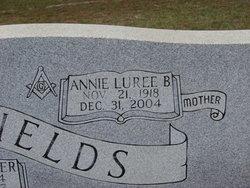 Annie Luree <I>Brinson</I> Fields