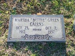 "Martha ""Bettie"" <I>Green</I> Cairns"