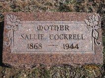 "Sarah ""Sallie"" <I>Garton</I> Cockrell"