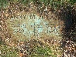 Fanny Myra <I>Jackson</I> Allaben