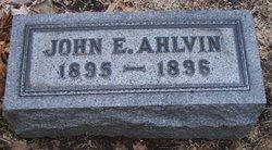 John E. Ahlvin