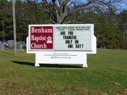 Benham Baptist Church Cemetery