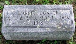 Warren McClintock