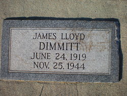 "James Lloyd ""Lloyd"" Dimmitt"