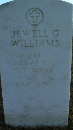 Jewell G Williams