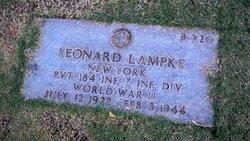 Pvt Leonard Lampke