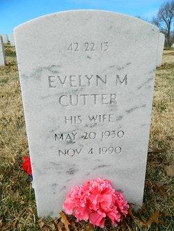 Evelyn Mae <I>Gilbert</I> Cutter