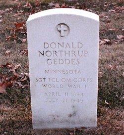 Donald Northrup Geddes