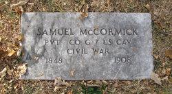 Pvt Samuel J McCormick