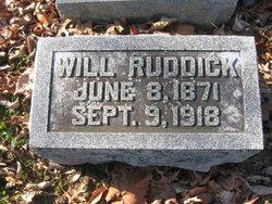 William Ruddick