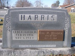 Lieut Benjamin M. Harris