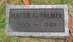 "Martha Ann ""Mattie"" <I>Gillespie</I> Palmer"