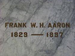 Frank William Howard Aaron
