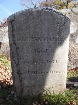 Mrs Louisa <I>Stockwell</I> Manning
