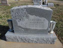 Clifford J Anderson