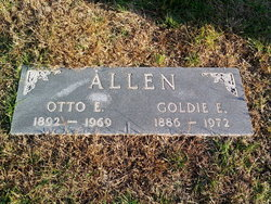 Goldie E. <I>May</I> Allen