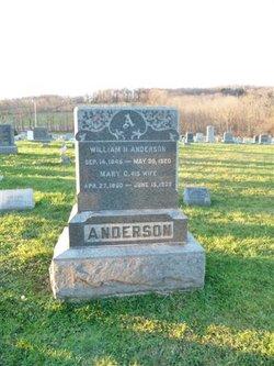 Mary Cornelia <I>Lance</I> Anderson