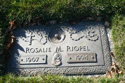 Rosalie M Riopel