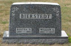 Bertha Dorothea <I>Franke</I> Bierstedt
