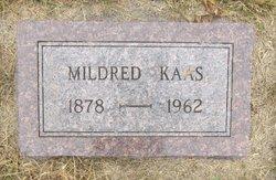 Mildred E <I>Miller</I> Kaas