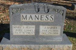 J Harvey Maness