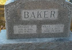 Willie F. <I>Coose</I> Baker