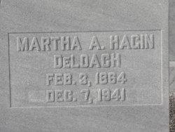 Martha A <I>Hagin</I> DeLoach