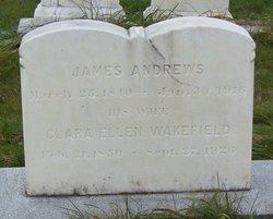 Clara Ellen <I>Wakefield</I> Andrews