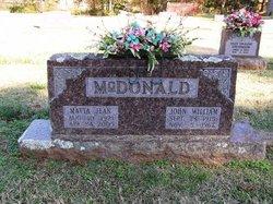 Matta Jean <I>Ratcliff</I> McDonald