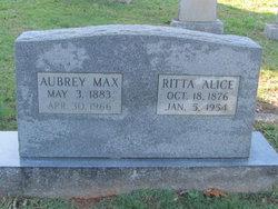 Ritta Alice <I>Franklin</I> Martin