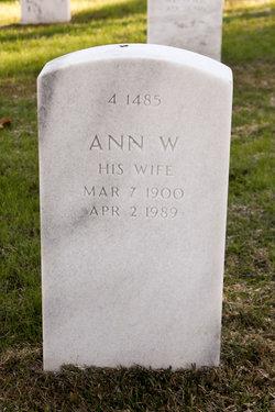 Ann <I>W</I> Garey