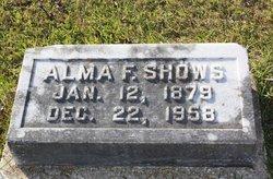Alma G <I>Fortenberry</I> Shows