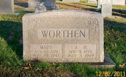 Joseph Henderson Worthen