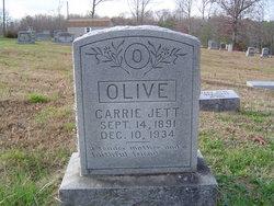 Carrie Jett <I>McGinniss</I> Olive