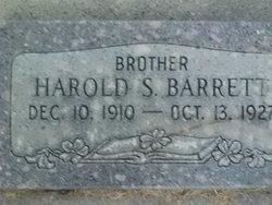 Harold Samuel Barrett