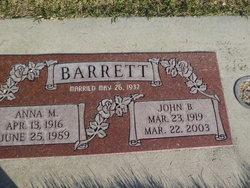 Anna Mae <I>Dixon</I> Barrett