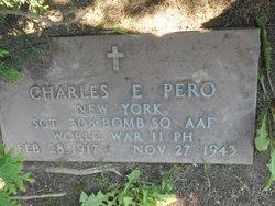 Sgt Charles E. Pero