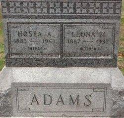 Leona Marie <I>Underwood</I> Adams