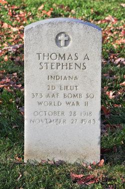 2LT Thomas A Stephens