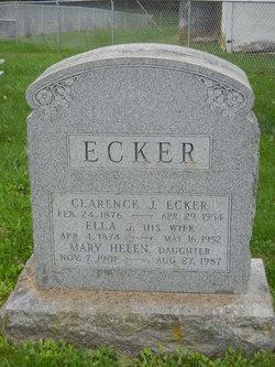 Ella J <I>Klein</I> Ecker
