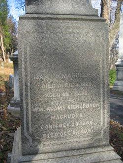 Isabel <I>Richardson</I> Magruder
