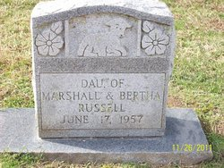 Infant Daughter Russell